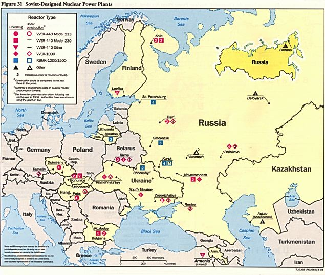 Why Ukraines Dependence On Russia In Nuclear Is Worse Than In Gas - Map of all nuclear power plants in the us