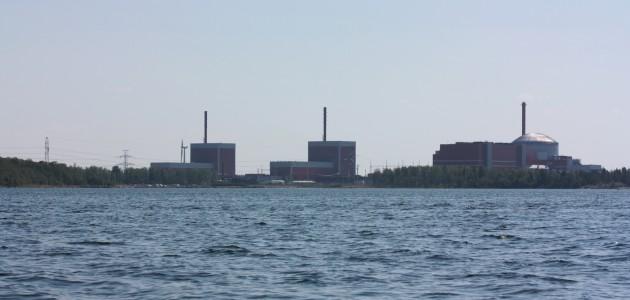 Olkiluoto 1, 2 and 3 (photo Kristian Lindqvist)