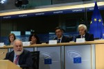Miguel Arias Cañete, Commissioner-designate for Climate & Energy, at his hearing at the European Parliament (credit: European Union, 2014)