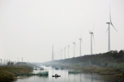 Windmills in China (photo Danish Wind Industry Association)