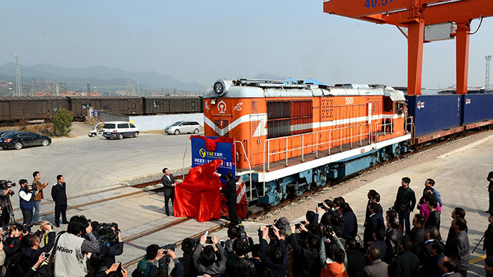 Yiwu Madrid train