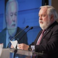 Miguel Arias Cañete at the Energy Union event in Riga