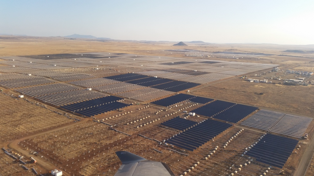 Dreunberg solar power plant South Africa (photo Scatec Solar)