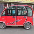 Electric car in Anyang China (photo V.T. Polywoda)