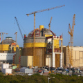 Two Pressurized Water Reactors under construction at Kudankulam nuclear power plant, India (photo: IAEA, 2013)