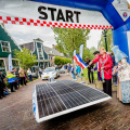 Nuon Vattenfall participates in electric rally in Amsterdam in 2012 (photo Nuon/Jorrit Lousberg)