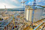 work on new LNG terminal in Poland (photo Polskie LNG)