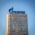Gazprom building in Moscow photo Thawt Hawthje
