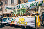 demonstration in Vatican city (photo Matt McDermott)