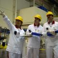 Safeguards training at Mochovce nclear power plant (photo IAEA)