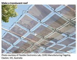 make a translucent roof