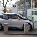 BMW i3 electric car (photo Kārlis Dambrāns)