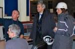 then-Energy Secretary Chris Huhne visits Longannet in 2010 (photo DECC)