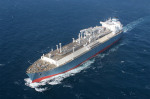 LNG ship bound for new LNG terminal in Lithuania