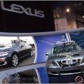 Lexus self-driving car (phot Michael Kwan)