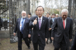 MIguel Arias Cañete (left) with UN SG Ban Ki-moon (photo Casa América)