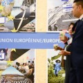 EU poster at Paris Climate conference Dec 2015 (photo Europe by Satellite)