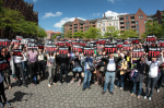 TTIP protest in Hamburg (photo Campact 2014)