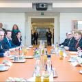 David Cameron and Martin Schulz president European Parliament Feb 2016 (photo European Parliament)