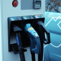 electric car charger (photo Karlis Dambrans)