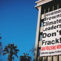 fracking protest California 2014 (photo Food and Water Watch)