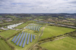solar farm in South West of England (photo Highways England)