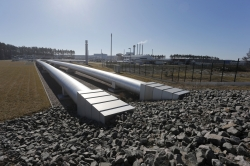 Landfall of (first) Nord Stream pipeline in Germany (photo Nord Stream)