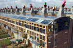 BedZed ecovillage in the UK (photo Tom Chance)