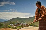 Bhutan vulnerable to climate change (photo Asian Development Bank)